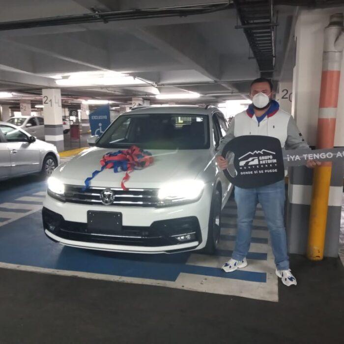Él ya tiene auto con el apoyo de Grupo Autofin Monterrey ¿Cuándo te damos el tuyo?